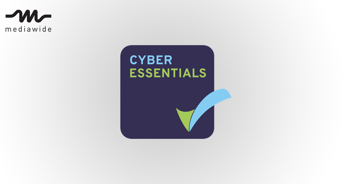 We've achieved Cyber Essentials certification!